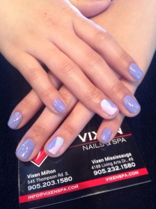 Shellac mani by Jasmeen
