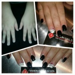 Gel Nails before & After by AShley